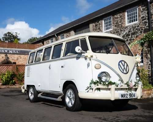 VW quirky Campervan - Wedding cars to hire in Northern Ireland
