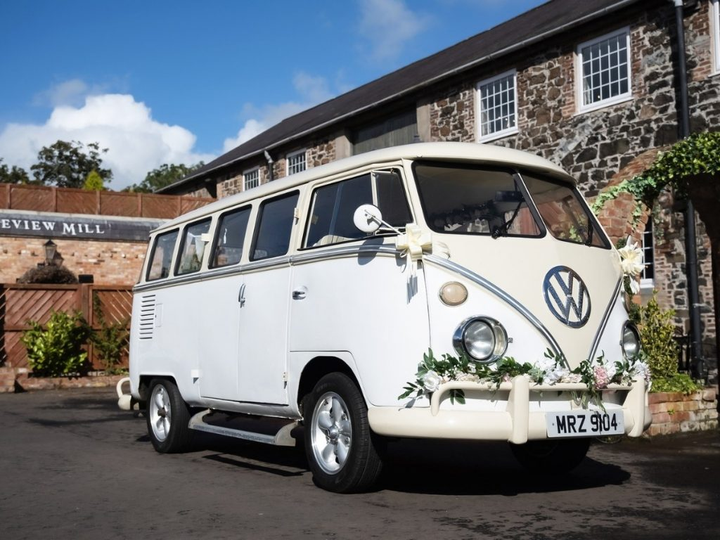 VW Wedding cars Northern Ireland - At the Wool Tower